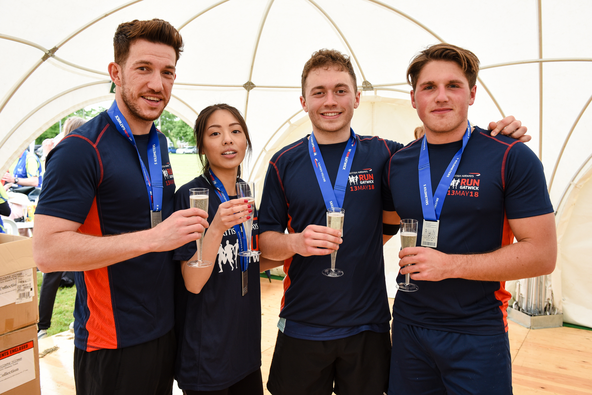 British Airways Run Gatwick | Ambra Recruitment Running Team