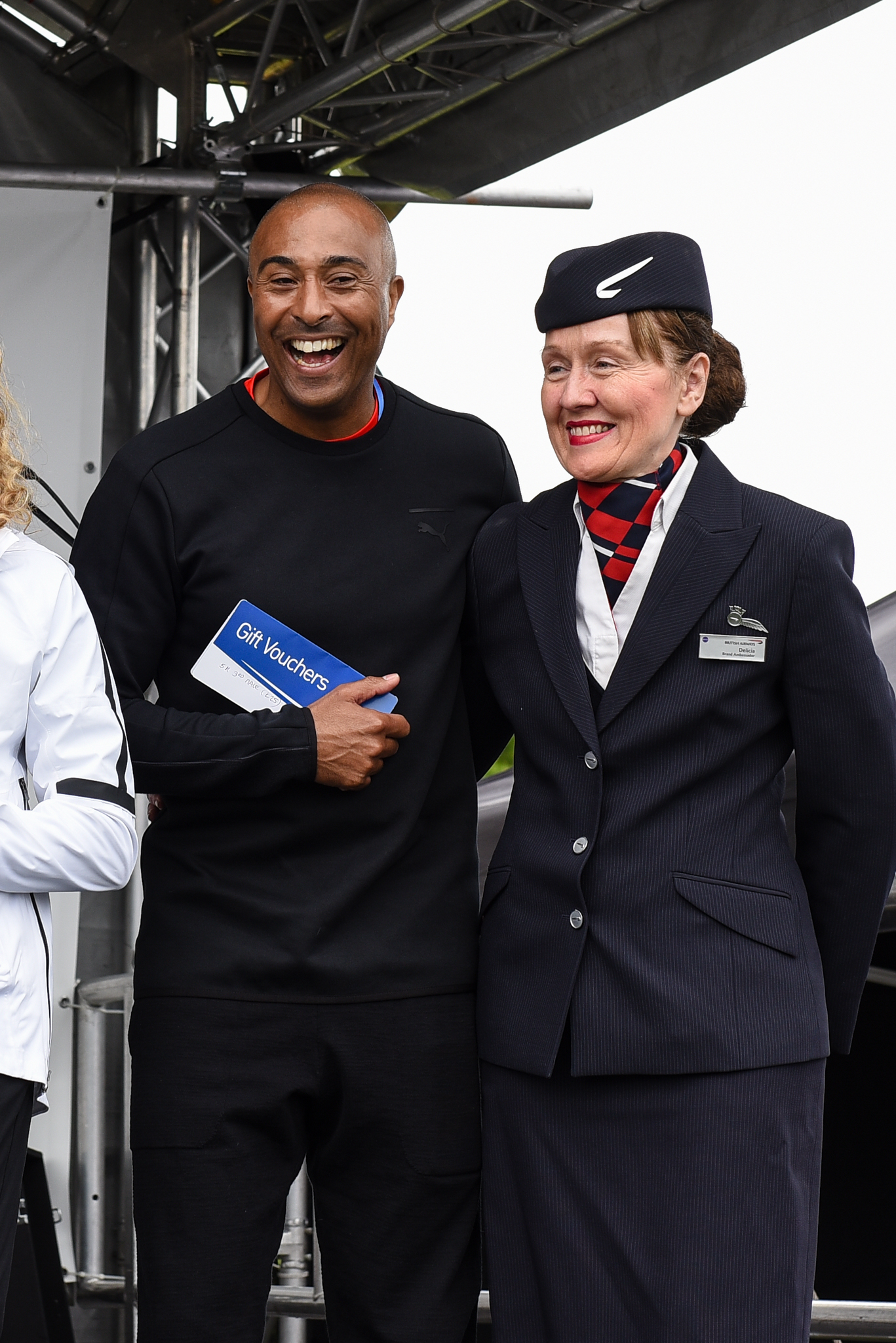 Colin Jackson Supports British Airways Run Gatwick