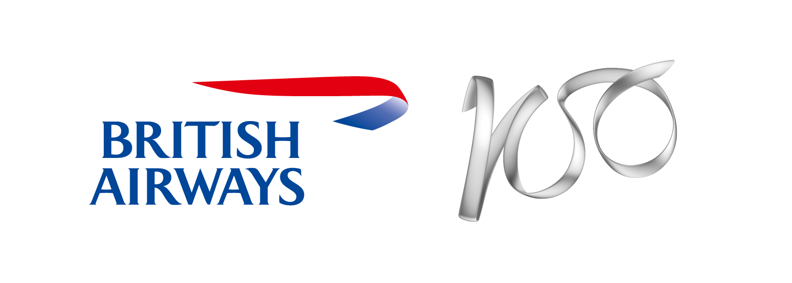 British Airways 100 Years Logo